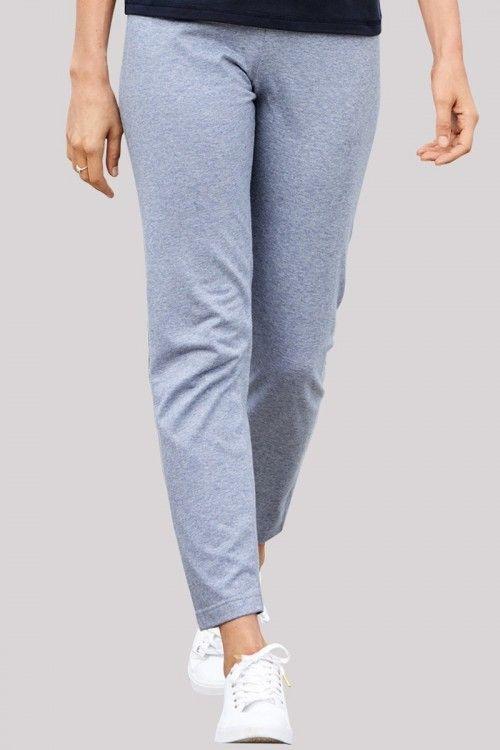 Pantalon détente en coton