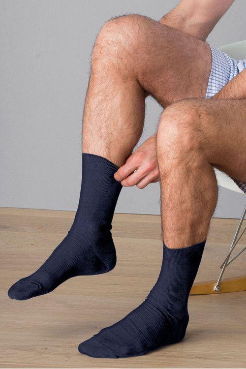Mi-chaussettes en fil d'Ecosse