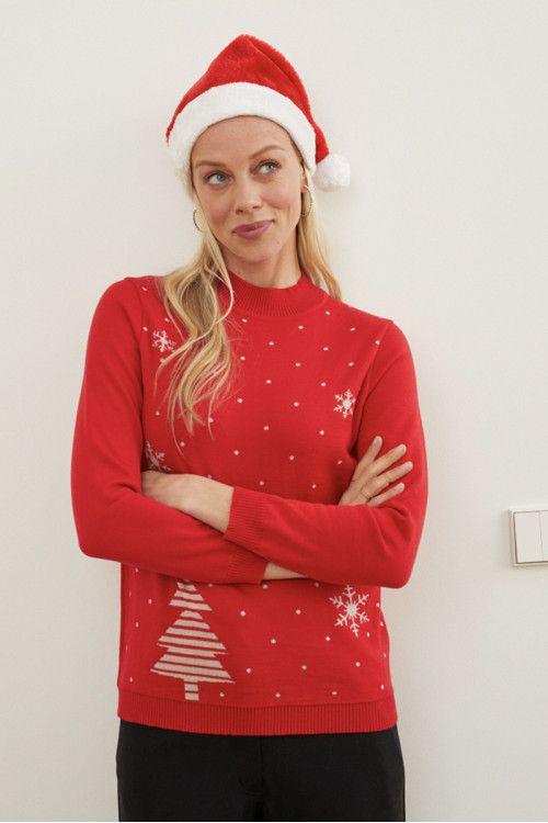 Pull de Noël en laine français